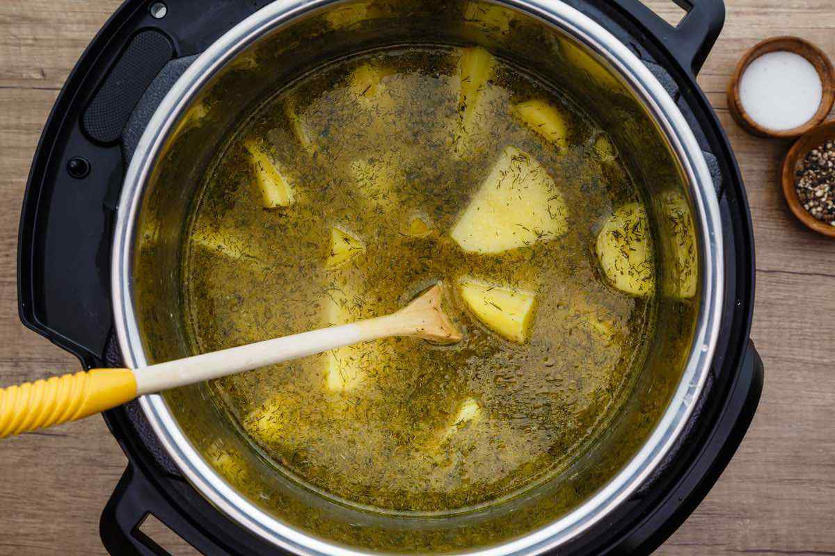 Instant Pot Potato Soup