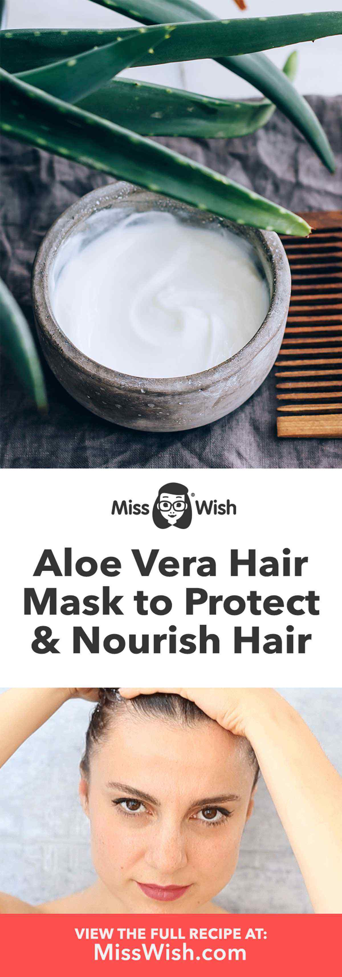 Homemade Aloe Vera Hair Mask