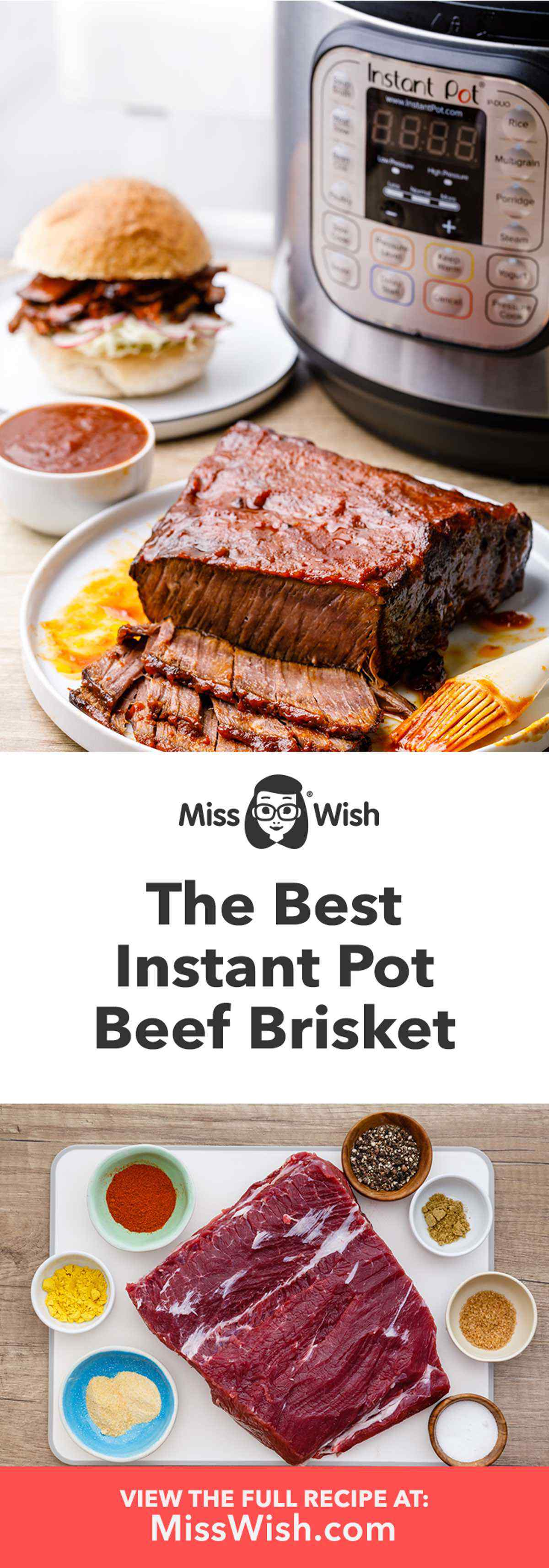 Instant Pot Brisket