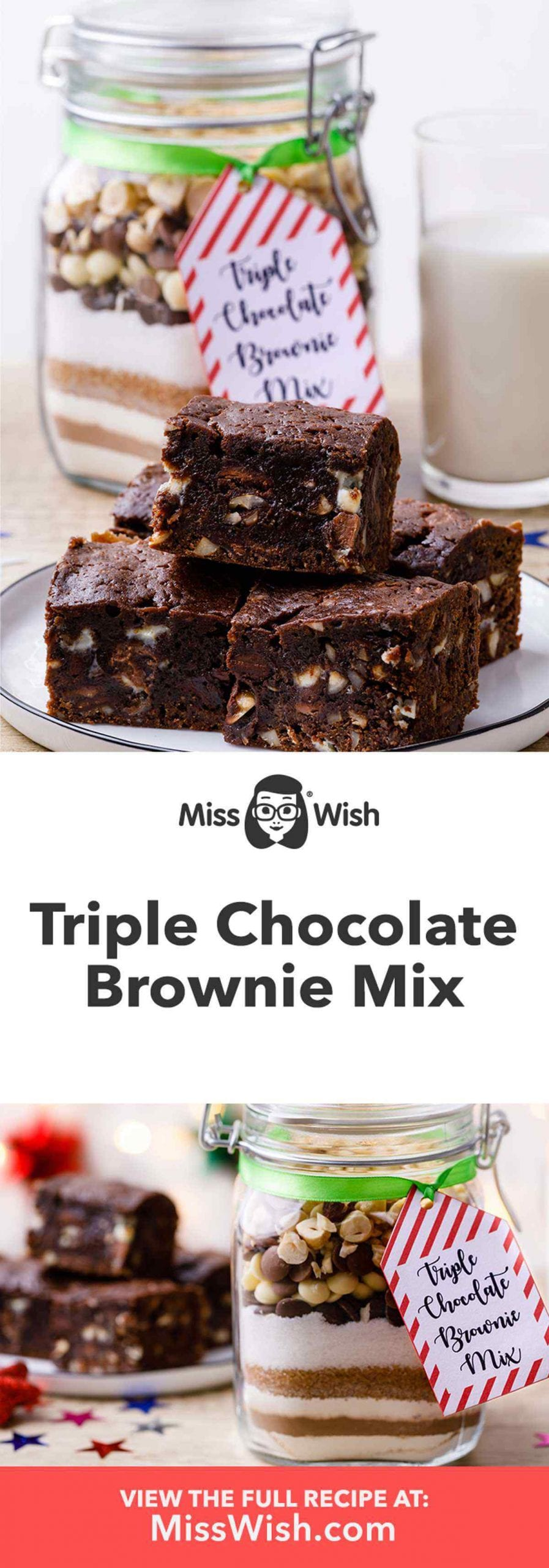 Triple Chocolate Brownie Mix