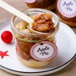 Homemade Apple Pie In a Jar
