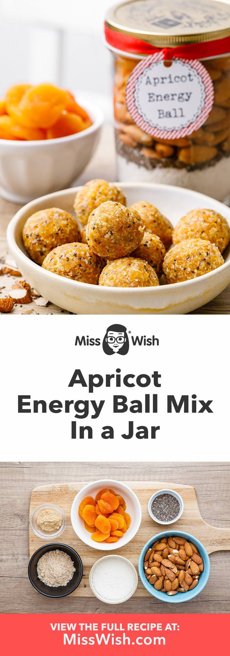How to make the best homemade apricot energy balls.