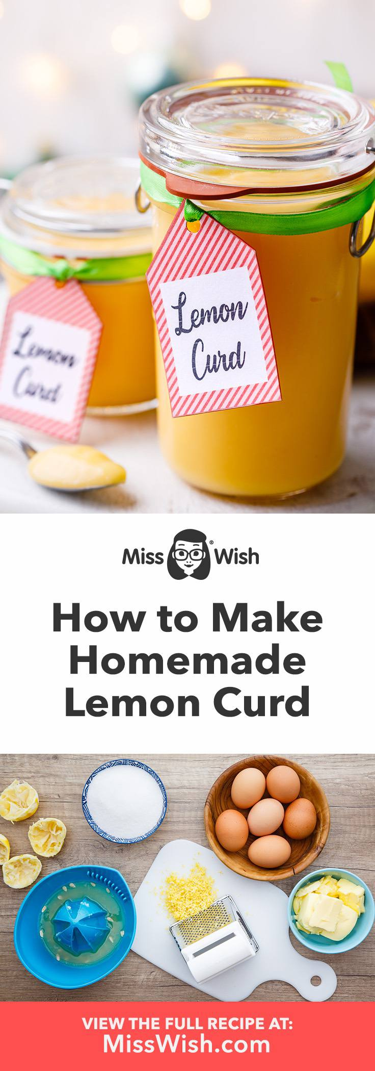 How to make the best homemade lemon curd with only 5 ingredients.