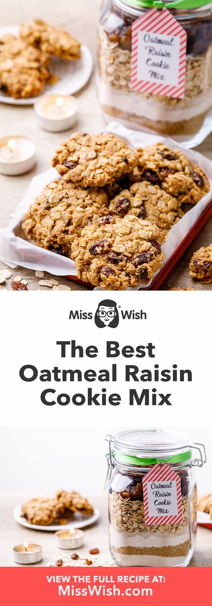 How to make the best oatmeal raisin cookie mix for quick and easy fresh baked oatmeal cookies,