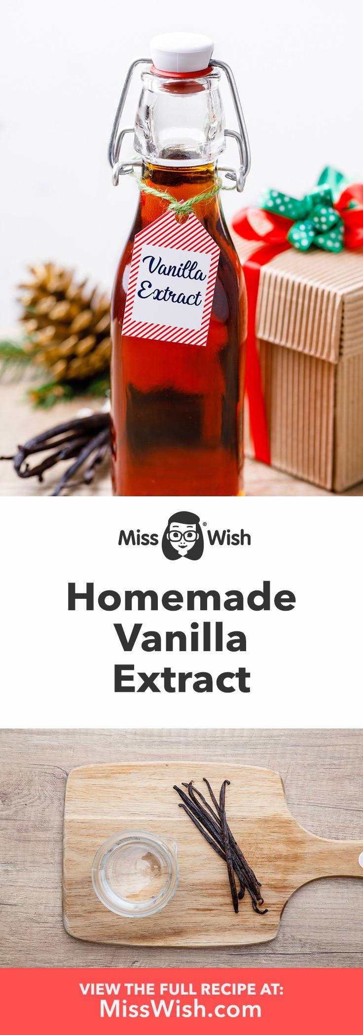 How to make homemade vanilla extract. This is so much better than store-bought!