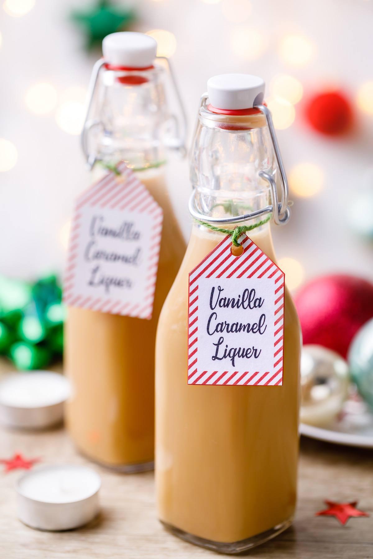 Caramel Vanilla Liquer