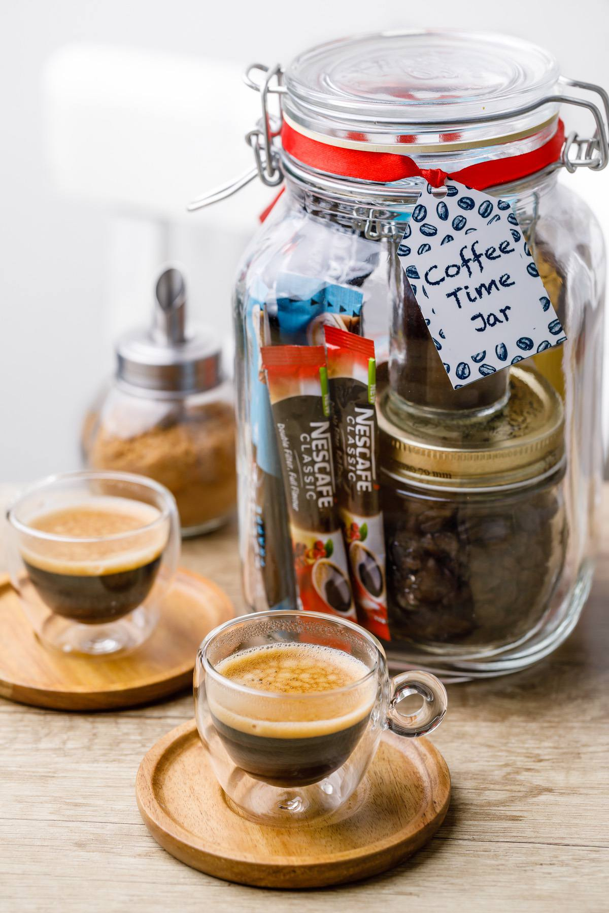 Coffee Gift in a Jar