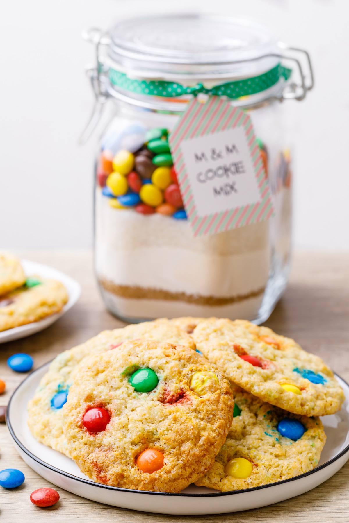 M&M Cookie Mix Recipe