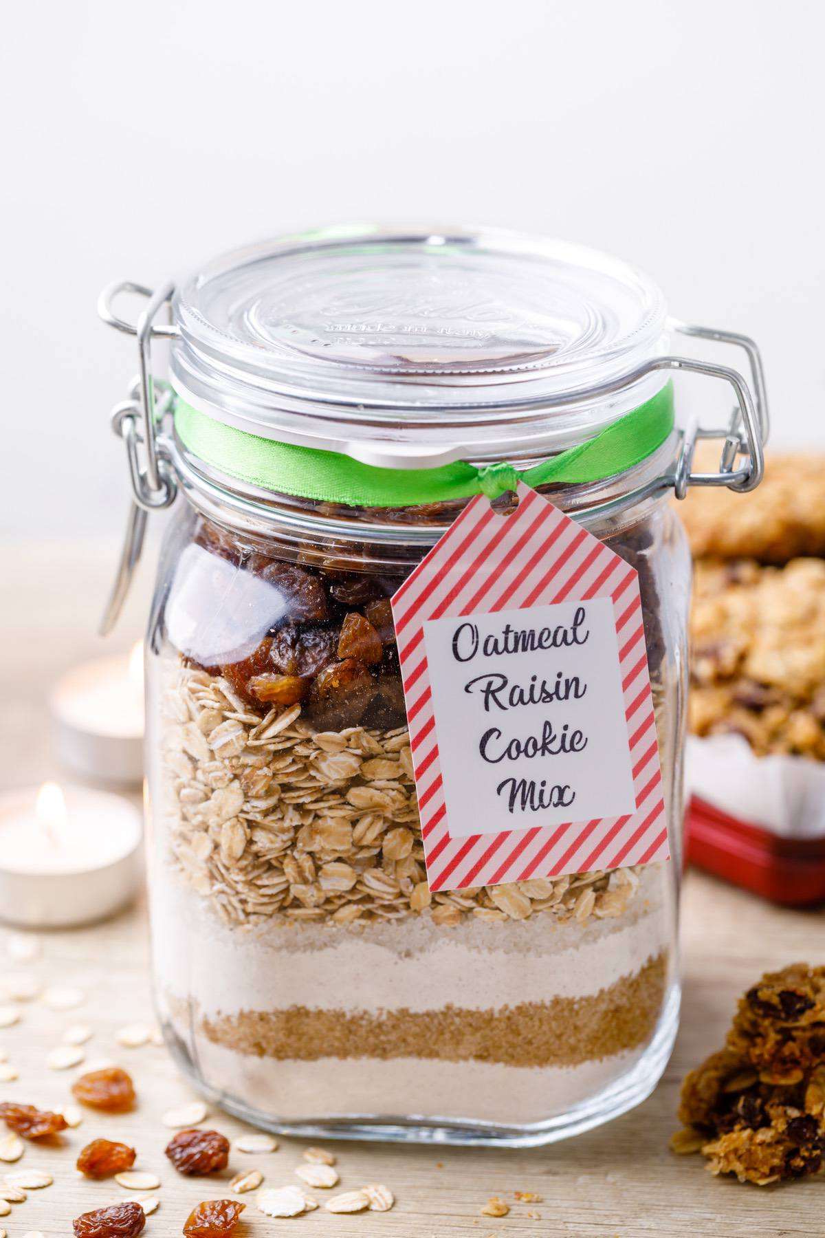 Oatmeal Raisin Cookie Mix