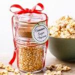 Cinnamon Sugar Popcorn Gift