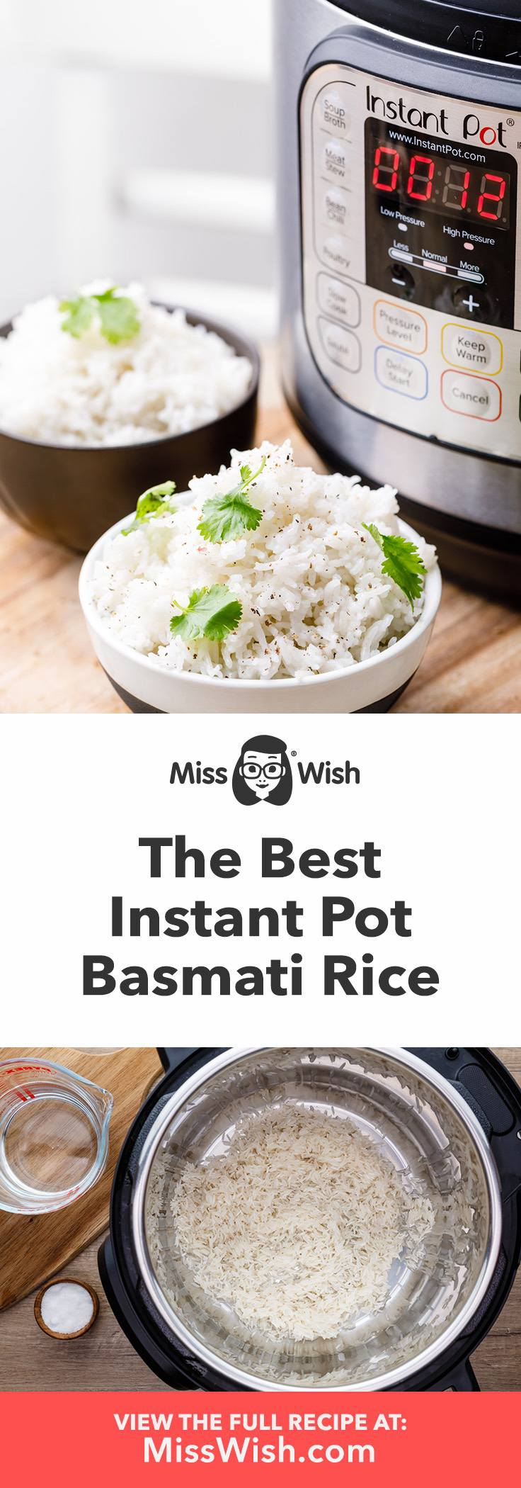 Easy Instant Pot Basmati Rice