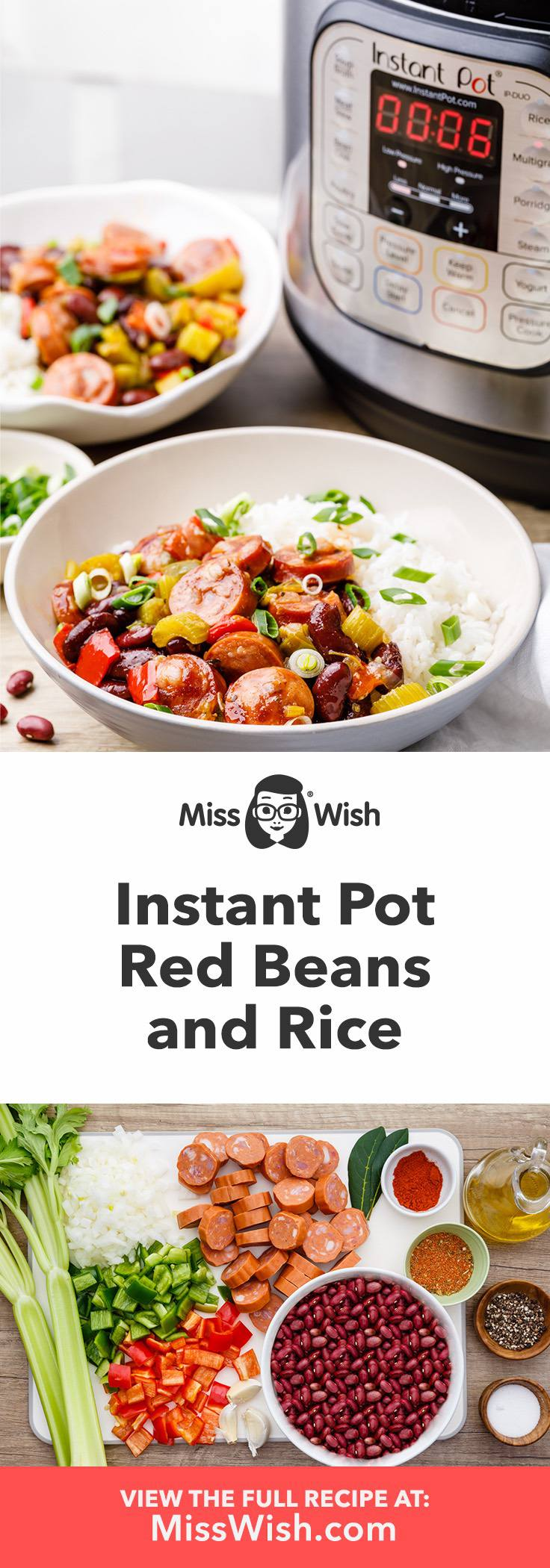 Soul-Satisfying Instant Pot Creole Red Beans And Rice