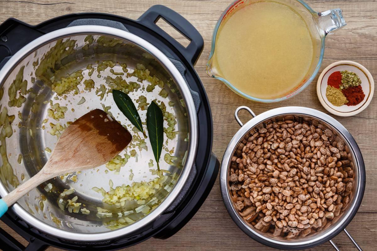 Instant Pot Refried Beans