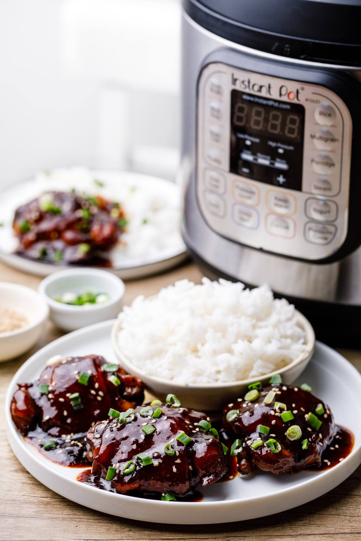 Instant Pot Honey Garlic Chicken