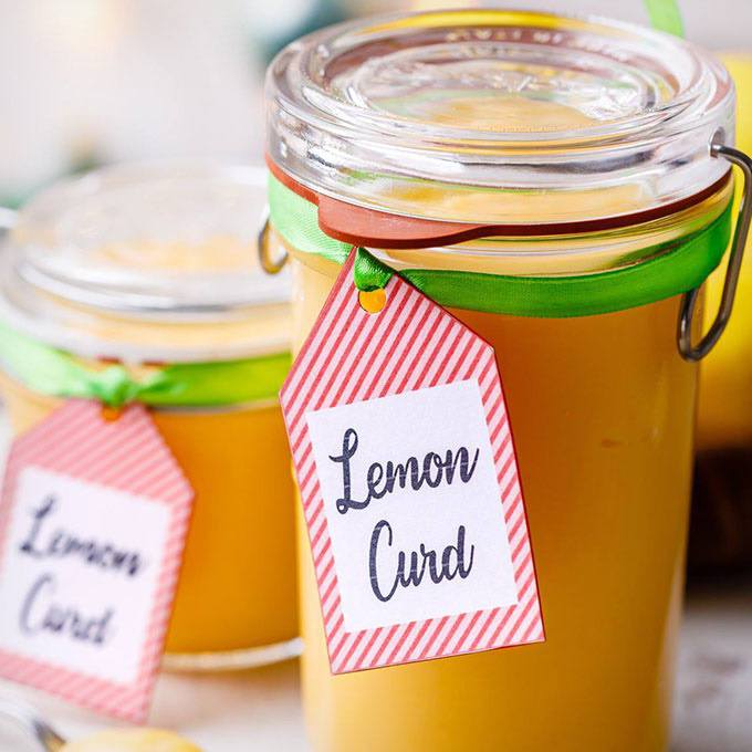 5-Ingredient Lemon Curd