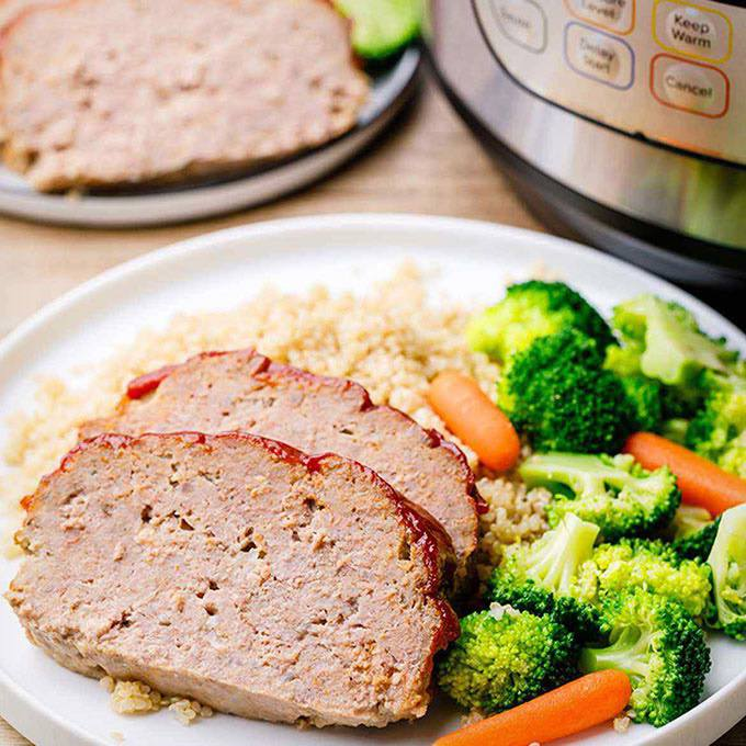 6-Ingredient Instant Pot Meatloaf