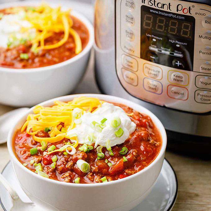 Award-Winning Instant Pot Chili