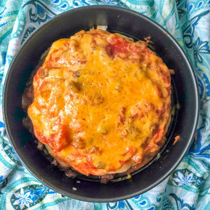 Chicken Burrito Lasagna