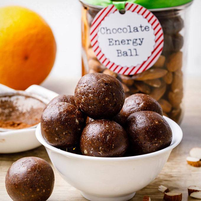 Chocolate Energy Ball Mix