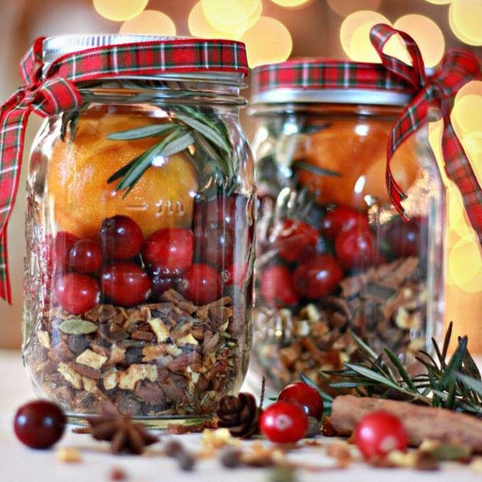 Christmas In A Jar Mulling Spices