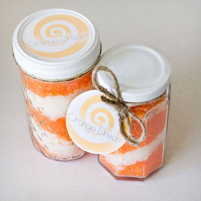 Diy Orange Dream Bath Salts