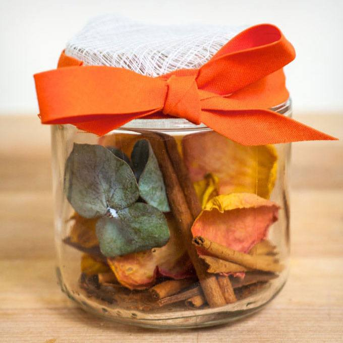 Diy Potpourri in a Jar