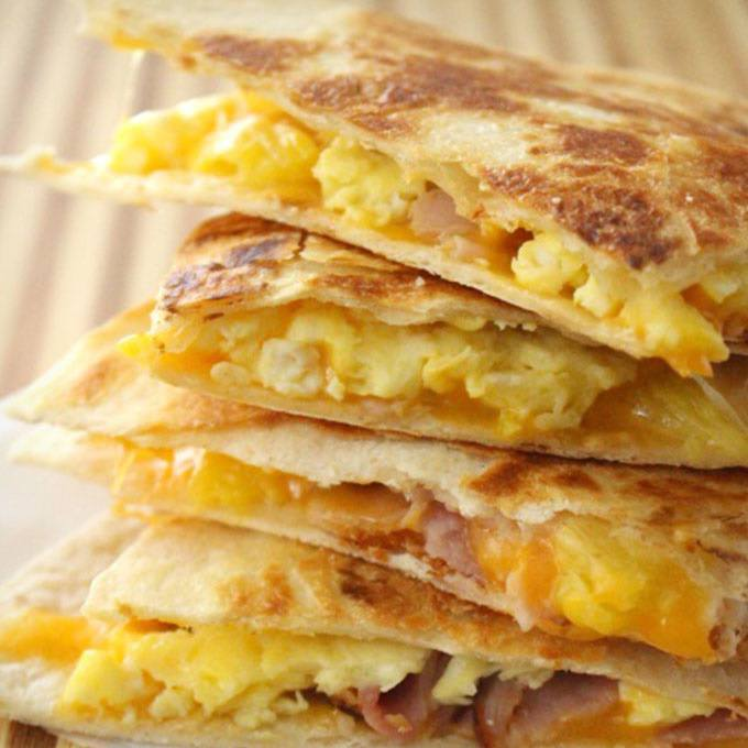 Freezer Breakfast Quesadillas