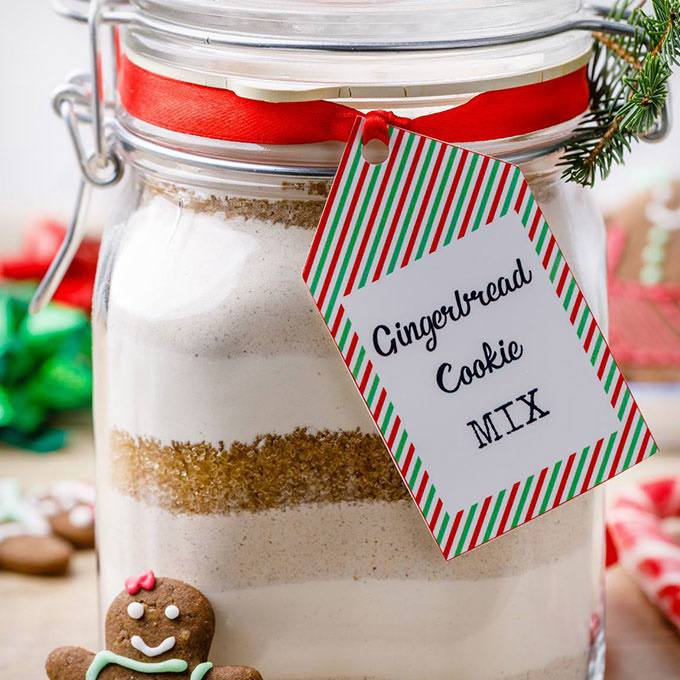 Gingerbread Cookie Mix