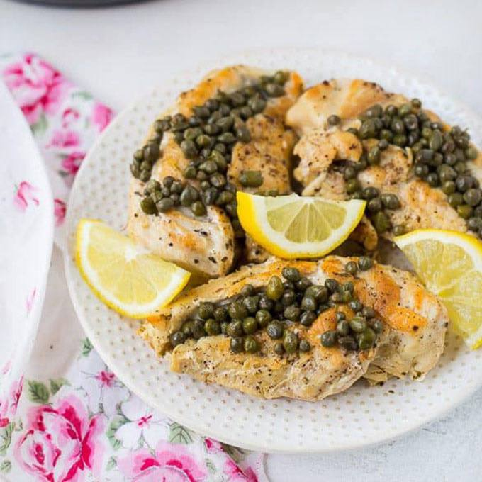 Healthy Chicken Piccata