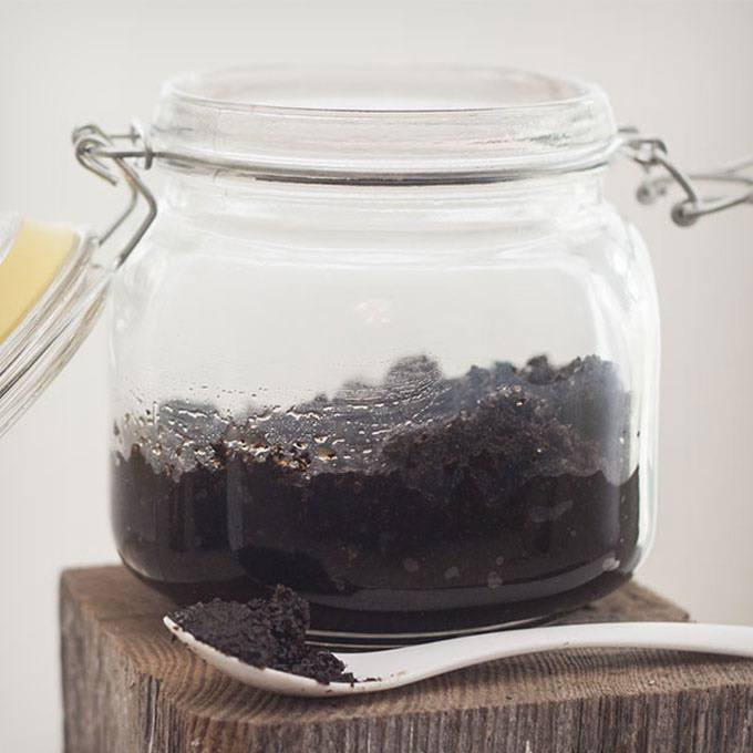 Homemade Coffee Face Scrub