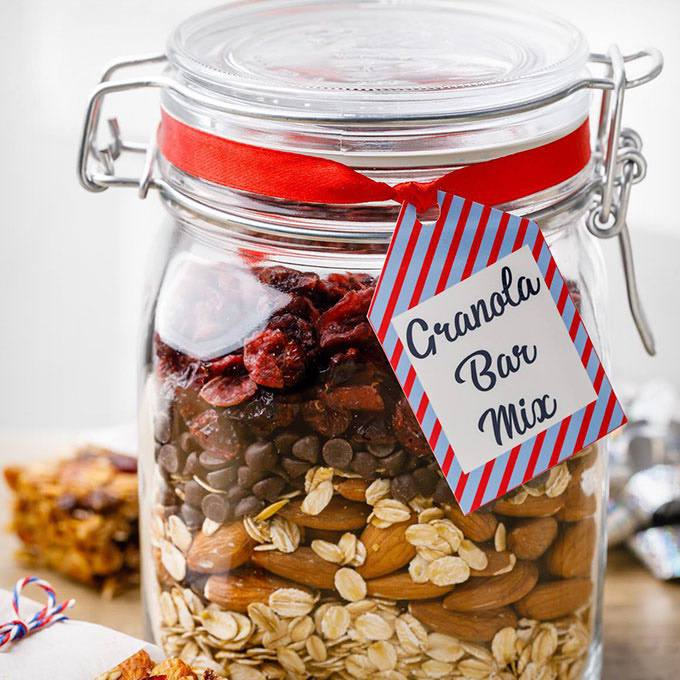Homemade Granola Bar Mix
