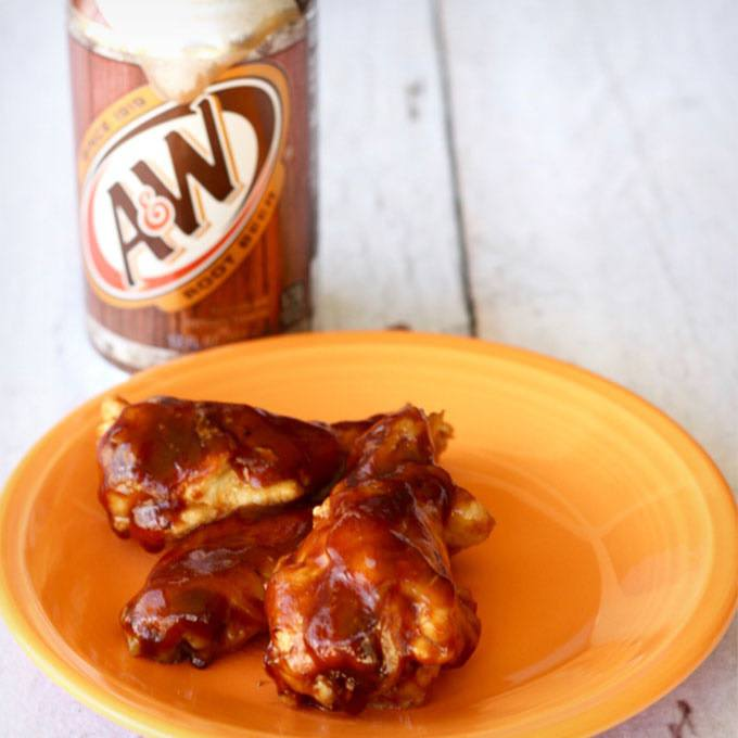 Instant Pot BBQ Root Beer Chicken Wings