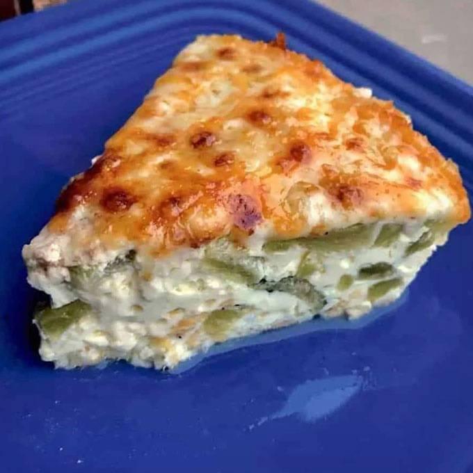 Instant Pot Keto Poblano Cheese Frittata