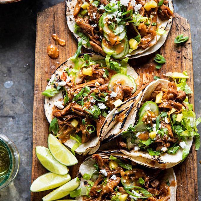 Instant Pot Korean Bulgogi Tacos
