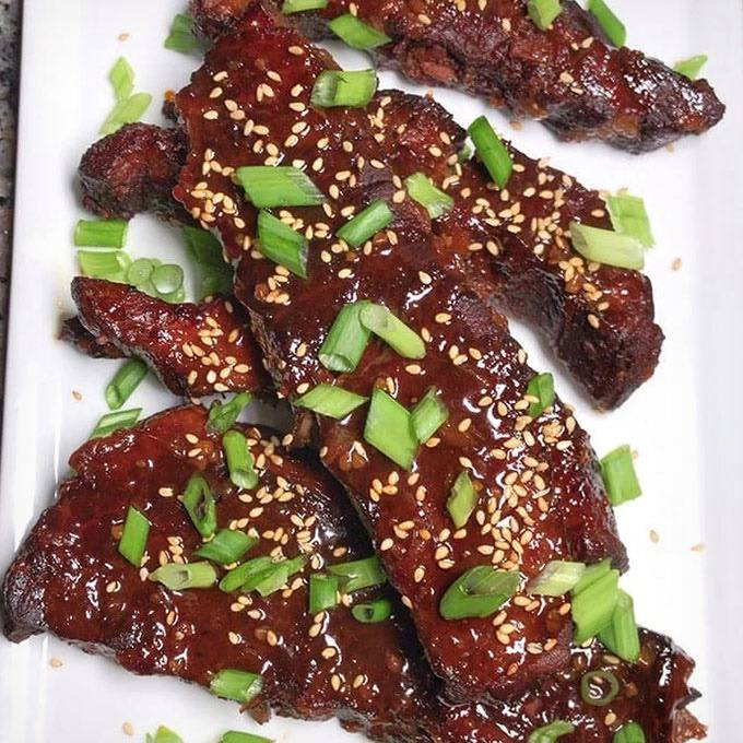 Instant Pot Korean Gochujang Sticky Boneless Beef Short Ribs