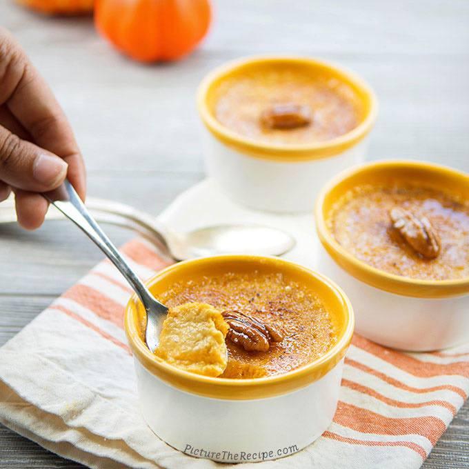 Instant Pot Pumpkin Spice Creme Brulee