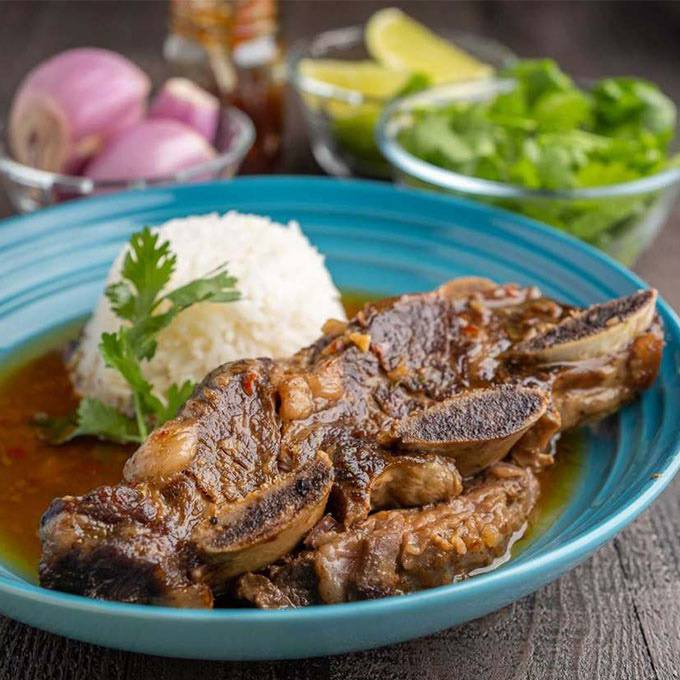 Instant Pot Short Ribs With Coconut Milk and Thai Curry