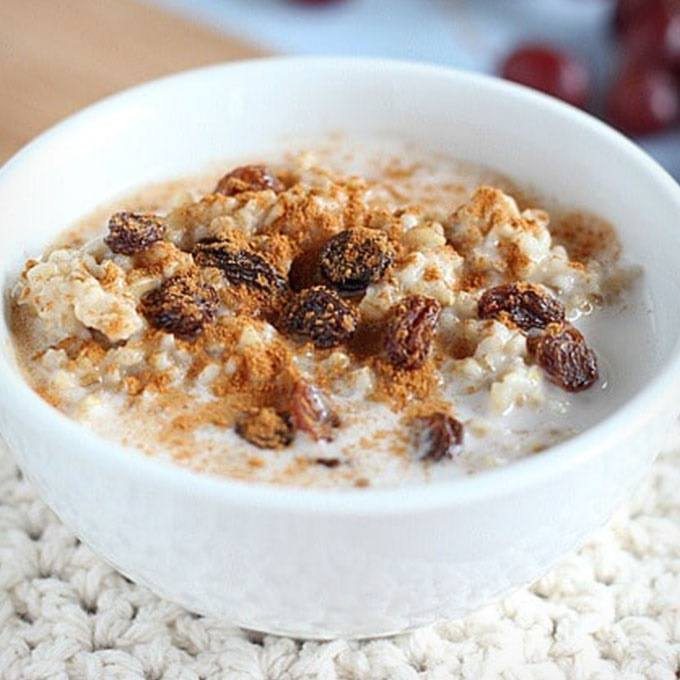 Instant Pot Steel Cut Oatmeal