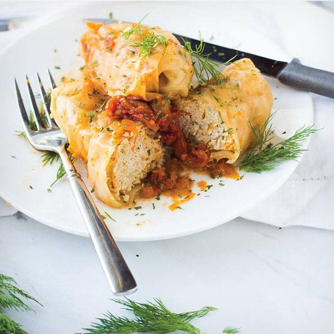 Instant Pot Stuffed Cabbage