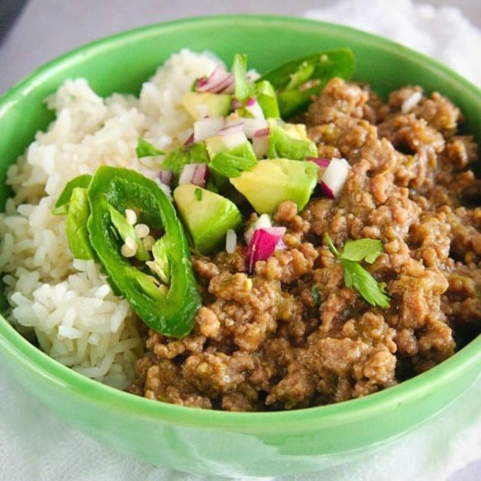Instant Pot Taco Bowls