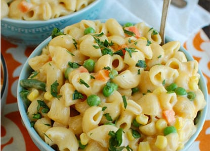 Instant Pot Vegetable Mac And Cheese