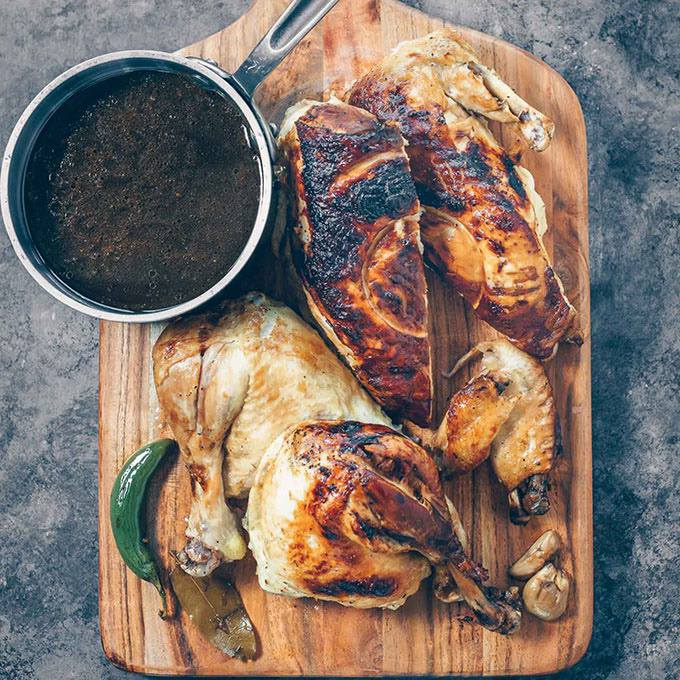 Instant Pot Whole Chicken Adobo
