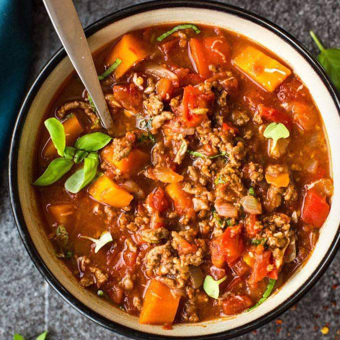 Italian Style Instant Pot Beef Chili