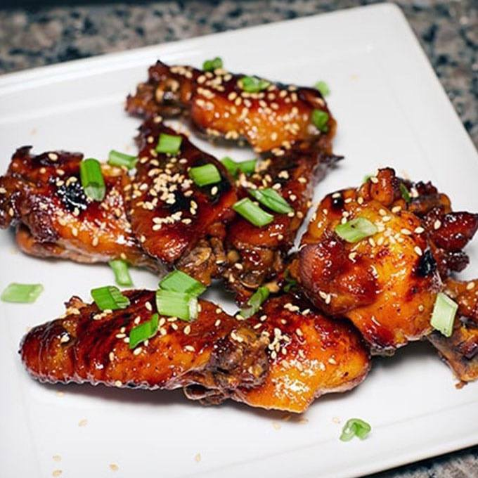 Korean Gochujang Sticky Wings