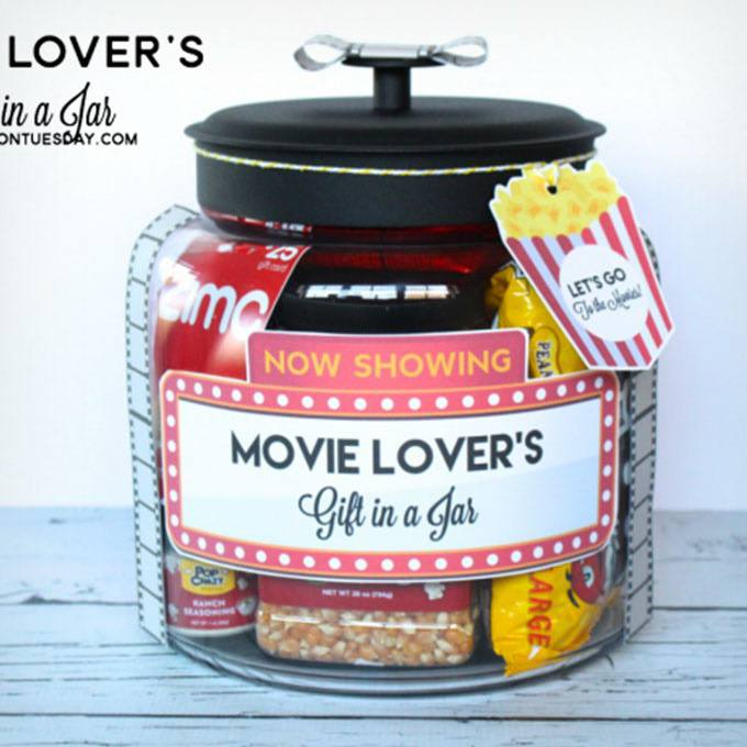 Movie Lovers Gift In A Jar