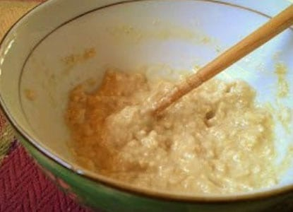 Oatmeal and Aloe Vera Face Mask
