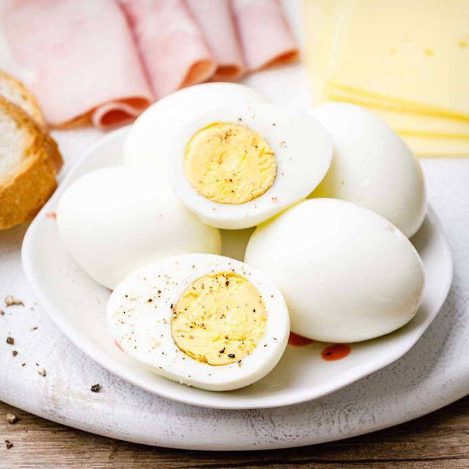Perfectly Cooked Instant Pot Hard Boiled Eggs