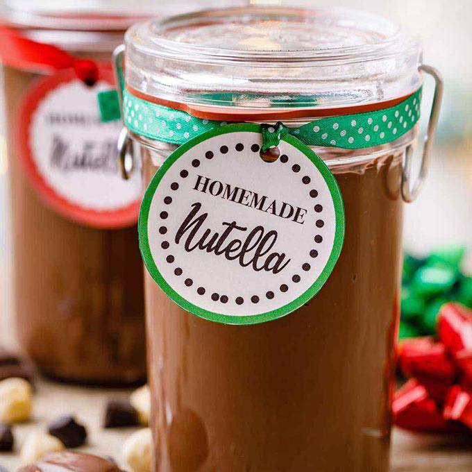 Rich and Creamy Homemade Nutella