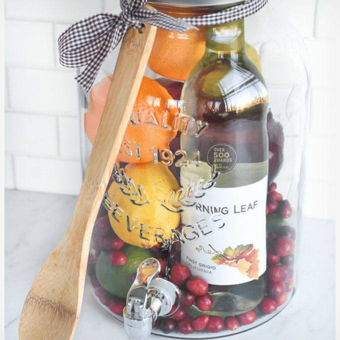 Sangria in a Jar