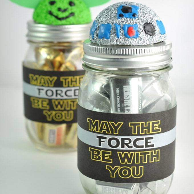 Star Wars Mason Jar Gift